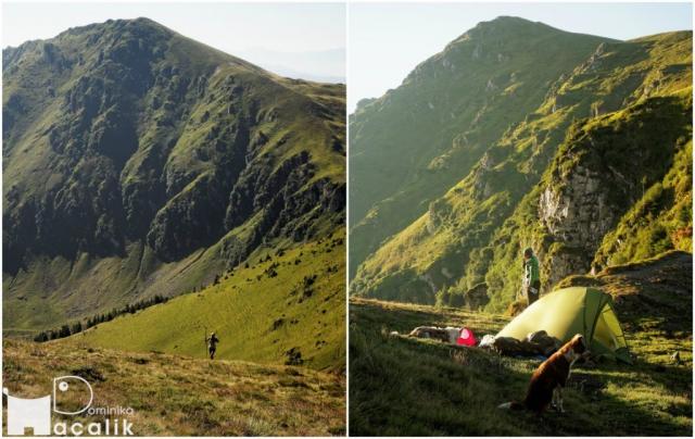 Poranek w górach - pobudka, śniadanie i zdobycie szczytu