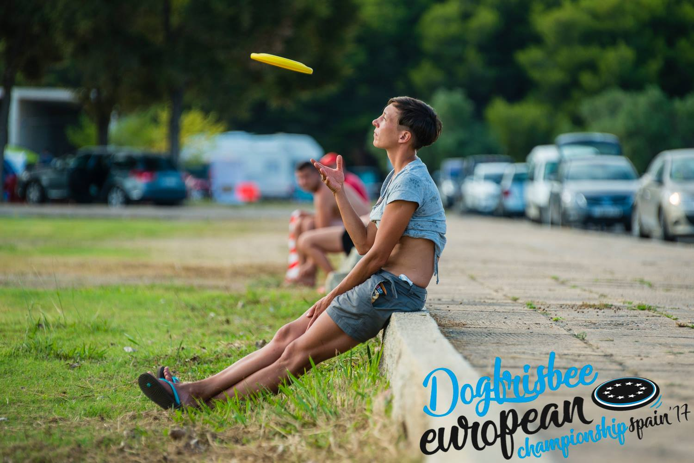 Dogfrisbee European Championship 2017 Tarragona - autor - Ruben Vigil Oncala